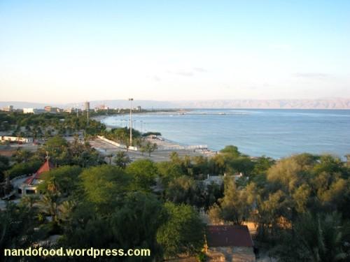 منظره از بالکن اتاق رو به دریا - هتل داریوش